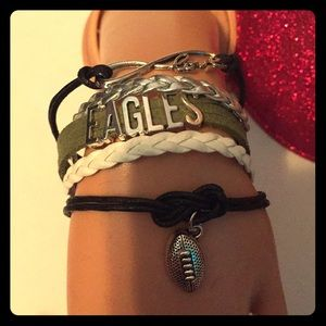 Jewelry - Phila Eagles bracelet 🦅